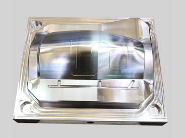 Mirror steel mold